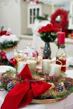 Weihnachten Styletable,     Weihnachtsdekoration, Weihnachtsdeko,  Weihnachtskränze, Weihnachtskerzen,  Tischdeko  Ideen, Tischdeko Weihnachte, Tischdekoration Weihnachten, Weihnachtstisch, Weinachten  Deko Ideen, Winterrezepte, festliches Geschirr,  funkelnder Weihnachtstisch, rote und weiße  Tischdeko, Weihnachtsdekoration rot, Christmas decoration, red decoration,  Christmas recipes ideas, Christmas wreath, table decoration christmas Decoration Christmas, Decoration Table, Recipes, Furniture, Home Decor, Prayers, Bible, Tips, Christmas Tree