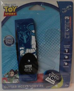 Toy Story Guitar Accessory Pack by First Act Strap and 3 Picks