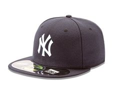 2343129808447 MLB New York Yankees Game AC On Field 59Fifty Fitted Cap-... Yankees