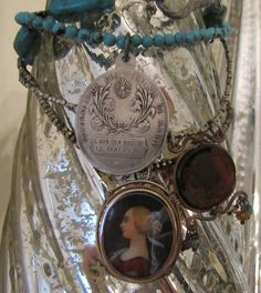 Turquoise and Treasures by FrenchSentiments on Etsy, $248.00