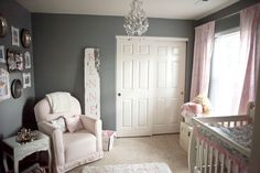Kennedy's Shabby Chic Nursery-Distressed Sign #modernmoments #jessicawilcox