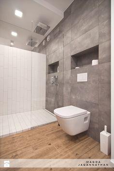 Łazienka styl Minimalistyczny - zdjęcie od magda jagannathan - Łazienka - Styl Minimalistyczny - magda jagannathan Shower Bathroom, Laundry In Bathroom, Toilet, Bathtub, Home Decor, Rain Shower Bathroom, Standing Bath, Flush Toilet, Bathtubs