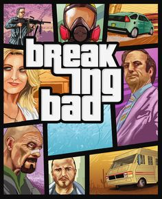 Breaking Bad: GTA by ~tosgos on deviantART