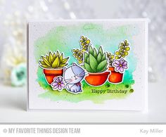 Hello! I am back for day 2 of the  My Favorite Things  March Release Countdown!  Only 2 more days until all of the fabulous new stamp...