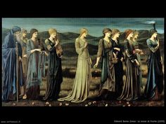 Yet another haunting image by Edward Burne-Jones