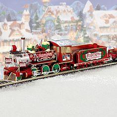 Rudolph's Christmas Town Express: Collectible Rudolph Train Set