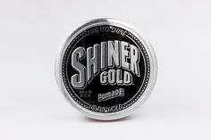 """This is an awesome pomade. It is a stronger ""medium hold"". Has the classic shiner gold scent, goes in smooth, and lasts all day."" -Nathan K. #shinergold #pomade #original #heavyhold #hair #hairstyle #mrpomade Pomade.com"