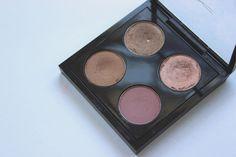 Lilypebbles' perfect MAC quad - Patina, All That Glitters, Cork, Haux