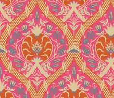 Serpentine754 fabric by muhlenkott on Spoonflower - custom fabric