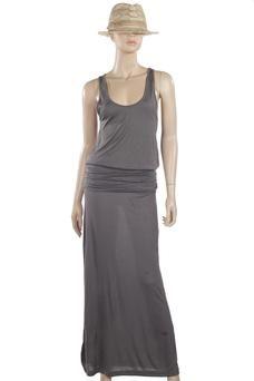 New Veronica M strapless drop-waist maxi dress at Cerulean Blu ...