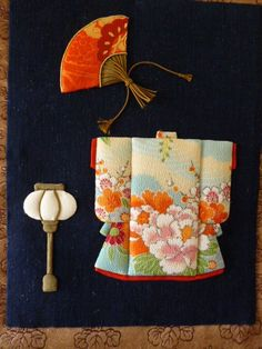Reuse Fabric, Japan Crafts, Doll Japan, 3d Pictures, Kimono Fabric, Japan Art, Japanese Kimono, Vintage Japanese, Design Crafts