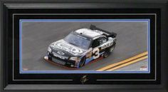Austin Dillon Framed Mini Panoramic with Facsimile Signature by Mounted Memories. $92.99. This NASCAR mini panoramic collectible features an 8x20 photo of Austin Dillon's number 3 race car.  It comes double matted and framed in black wood and includes Austin's facsimile signature. Officially licensed by NASCAR.  Measures 15x27 and comes ready to hang in your home or office.