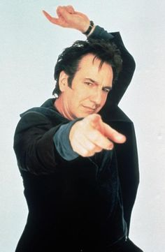 Alan Rickman is, was and will always be The Voice of God.