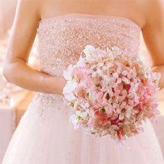 Antique Pink Wedding Flowers