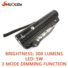 SLD-YM8077 LED Flashlight suit for outdoor activities hiking camping and daily life