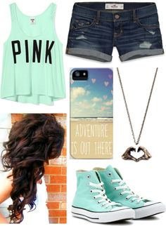 """Spring Break!!"" by remmyyy ❤ liked on Polyvore"
