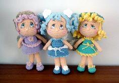 Fairy Dolls [ Free Crochet Pattern ]