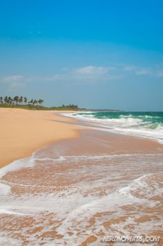 Beautiful Tangalla Beach in Sri Lanka. #srilanka #beach @nerdnomads http://nerdnomads.com/the-perfect-beach-tangalla-sri-lanka