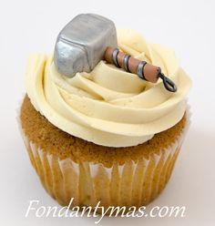 Cupcake Los Vengadores, Martillo de Thor