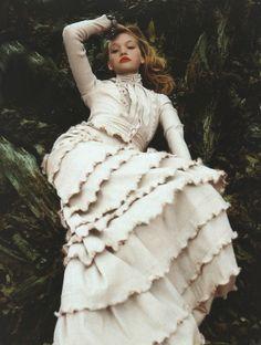 Gemma Ward by Nick Knight for Vogue UK