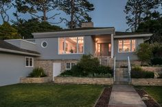 1067 Morse Dr, Pacific Grove, CA 93950 http://1067morsedrive.com  Located on a ¼ acre prime lot in the Candy Cane Lane neighborhood of Pacific Grove, this beautiful turn-key home has something for everyone. This Monterey Bay property features 3 bedrooms, 2 bathrooms, a state-of-the-art kitchen with cherry cabinets, granite counters and vaulted ceilings, a family room with a fireplace and wood panel accents, formal entry, living, and dining rooms, a master suite with French doors.