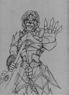 Graf Dumas Sketch by Ewder on DeviantArt Soul Calibur, Fighting Games, Sketch, Deviantart, Sketch Drawing, Sketches, Tekenen, Draw