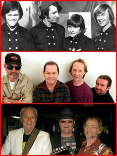 The Monkees throughout the 50 years
