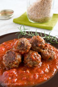 Tasty and Healthy MEATBALL RECIPE with Farro and Rosemary