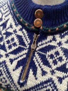 Dale of Norway, Norwegian wool sweater made in Norway-Men's S/women's M