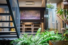 Townhouses with Private Courtyards / baan puripuri