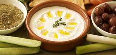 Labneh za3tar and olives:breakfast