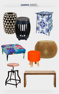 Bancos no décor. Veja: http://www.casadevalentina.com.br/blog/detalhes/bancos-no-decor:-como-nao-amar!-2955  #decor #decoracao #interior #design #casa #home #house #idea #ideia #detalhes #details #style #estilo #cozy #aconchego #conforto #casadevalentina #produtos #products