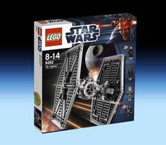9492 TIE Fighter (2012) - 413 pieces, 4 mini-figures.