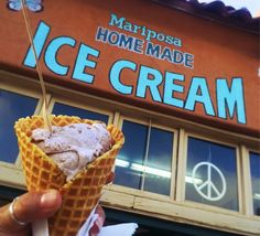 Mariposa Ice Cream - Ice Cream - Beat the heat of summer by tasting scoops of colorful and yummy homemade ice cream flavors at Mariposa Ice Cream