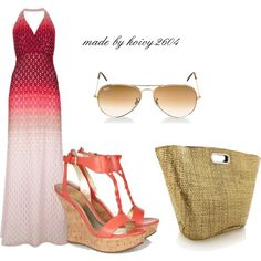 """""""Maxi Dress SUmmer 2013"""" by koivy2604 on Polyvore"""