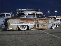 I love patina. 54 Chev