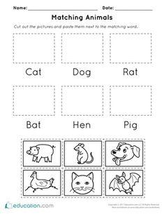 critter crossword bugs worksheets kindergarten and social studies. Black Bedroom Furniture Sets. Home Design Ideas