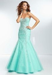 Online Shop Beaded Sweetheart Pink Champagne Aqua Mermaid Prom Dresses 2014 Free Shipping|Aliexpress Mobile