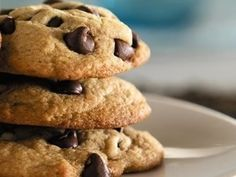 Chocolate Chip Cookies Recipe - Diabetic Gourmet Magazine - Diabetic Recipes Diabeticgourmet.com
