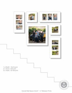 Staircase Photo Walls : Sioux Falls Photographer