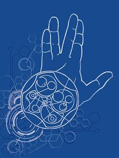"""""""Live Long and Prosper"""" in circular gallifreyan. :: I am too Geek not to Love this! Crossover, Circular Gallifreyan, Blue Box, Live Long, Zentangles, Mad Men, Tattoo Inspiration, Star Trek, Design Elements"""