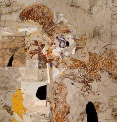 "Fred Otnes collage / ""Interval"""