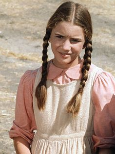 Little House On The Prairie's Laura Ingalls played by Melissa Gilbert celebrates her big 5-0 today - she was born 5-8 in 1964.
