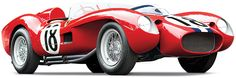 1957 Ferrari 250 Testa Rossa Prototype, Estimated to be the most valuable car ever sold at auction in the world