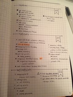 erraticstudying:   21.7.15 // I began my bullet... - Bullet Journals Rock