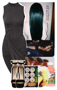 """""""✖️okay fr this time , gn .."""" by graciegyrl12 ❤ liked on Polyvore featuring Club L and Prada"""