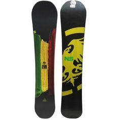 841df2f57fa Never Summer Evo Snowboard - Limited Edition Rasta Graphic  2015