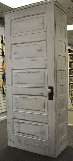 Back of display case