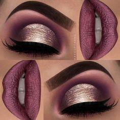 Gorgeous Makeup: Tips and Tricks With Eye Makeup and Eyeshadow – Makeup Design Ideas Blue Eye Makeup, Fall Makeup, Skin Makeup, Eyeshadow Makeup, Eyeshadow Tips, Holiday Makeup Looks, Cute Makeup, Gorgeous Makeup, Pretty Makeup
