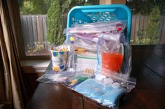 Busy Bags - keep the kids busy with activities